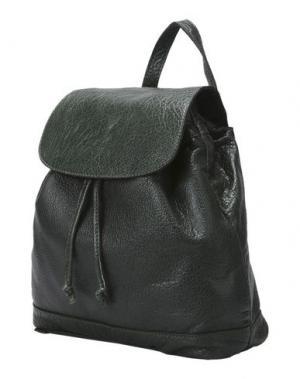 Рюкзаки и сумки на пояс MANIFATTURE CAMPANE. Цвет: темно-зеленый