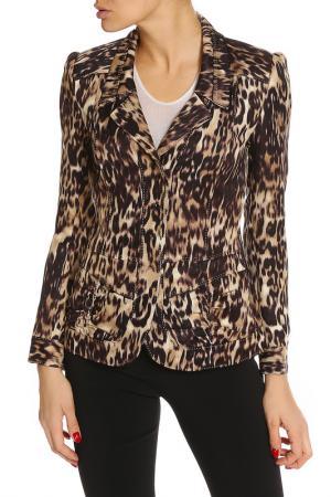 Пиджак Elie Tahari. Цвет: леопардовый