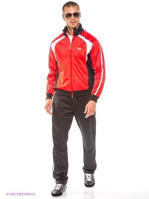 Спортивный костюм ADDIC. Цвет: красный, черный