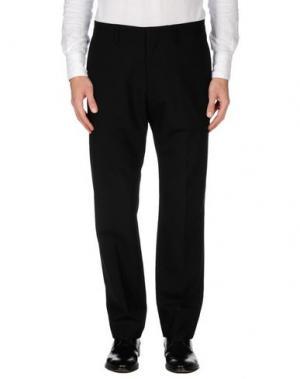 Повседневные брюки AQUASCUTUM. Цвет: черный