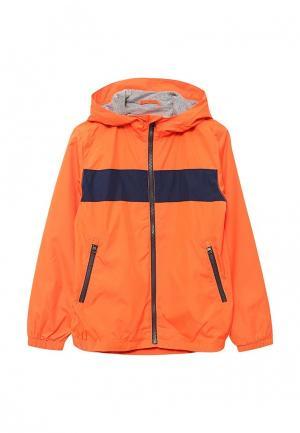 Ветровка Gap. Цвет: оранжевый