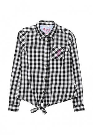 Рубашка Blukids. Цвет: черно-белый