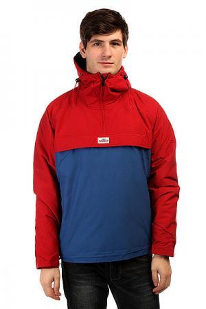 Анорак  Elk Two Tone Insulated Pullover Jacket Red Penfield. Цвет: красный,синий