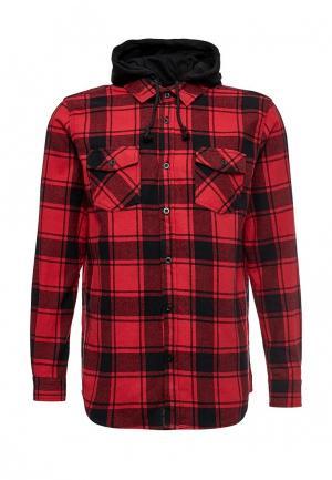 Рубашка Modis. Цвет: красный