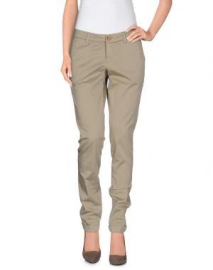Повседневные брюки FAY. Цвет: бежевый