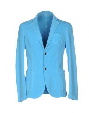 Пиджак FRADI. Цвет: бирюзовый