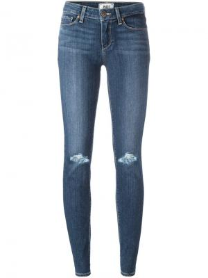 Узкие джинсы Verdugo Paige. Цвет: синий