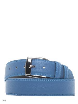 Ремень Roberto Nardi. Цвет: голубой