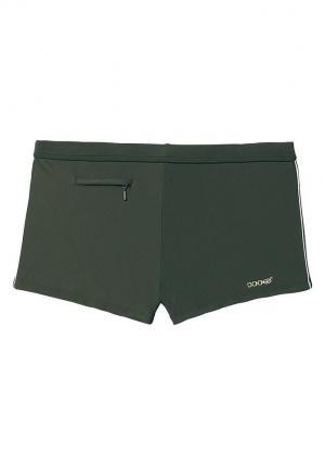Плавки-боксёры, H.I.S. Swimwear Otto. Цвет: зеленый