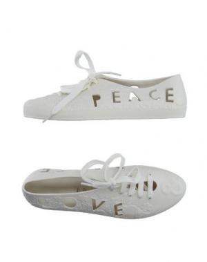 Обувь на шнурках F-TROUPE. Цвет: слоновая кость