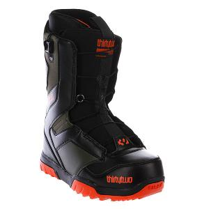 Ботинки для сноуборда  Groomer Ft 13 Black/Olive Thirty Two. Цвет: черный