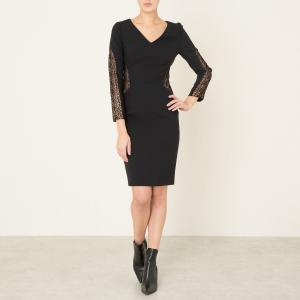 Платье CRAZY BA&SH. Цвет: черный