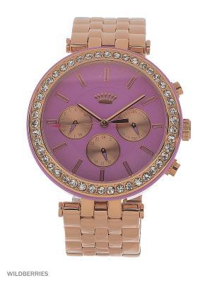 Часы Juicy Couture. Цвет: золотистый, розовый