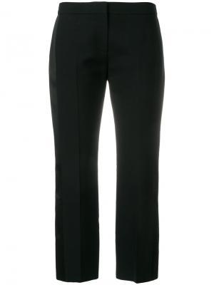 Укороченные брюки Alexander McQueen. Цвет: чёрный