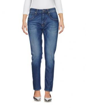 Джинсовые брюки TRUE NYC.. Цвет: синий