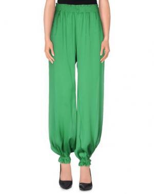 Повседневные брюки MARZIA GENESI SEA. Цвет: изумрудно-зеленый