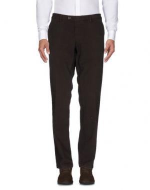 Повседневные брюки FUTURO. Цвет: темно-коричневый