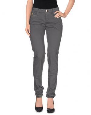 Повседневные брюки D-21. Цвет: свинцово-серый