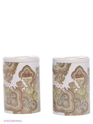 Чайный набор Basilur Восточная коллекция Белая луна. Цвет: зеленый, белый