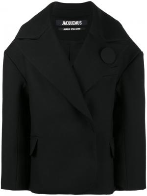 Пальто свободного кроя La Grande Veste Jacquemus. Цвет: чёрный