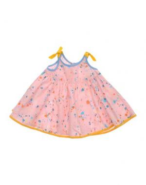 Платье MIMISOL. Цвет: розовый