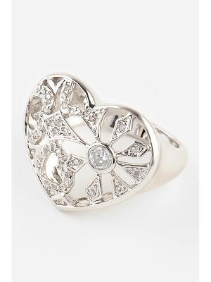 Кольцо Inesse M. Цвет: серебристый