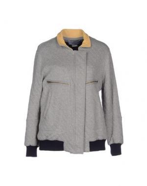 Куртка LES PRAIRIES DE PARIS. Цвет: светло-серый