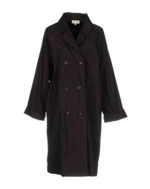 Легкое пальто ISA ARFEN. Цвет: баклажанный