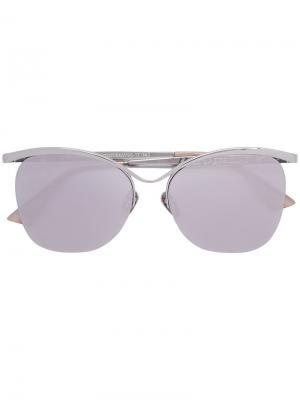 Солнцезащитные очки Le Specs. Цвет: металлический