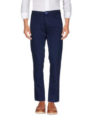 Повседневные брюки DIMATTIA. Цвет: темно-синий