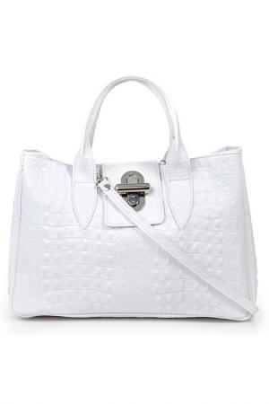 Сумка Pitti bags. Цвет: белый