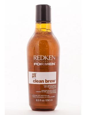 Шампунь очищающий для ежедневного применения с солодом и пивными дрожжами, КЛИН БРЮ, 250 мл REDKEN. Цвет: белый