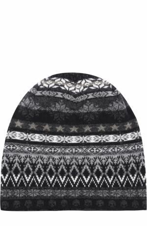 Шерстяная шапка бини Gemma. H. Цвет: черный
