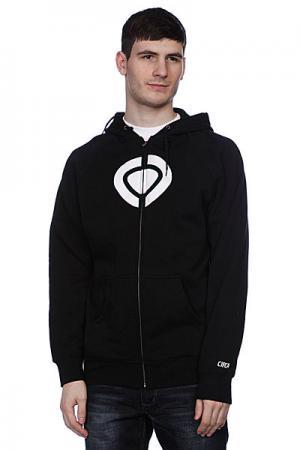 Толстовка  Icon Zip Fleece Black Circa. Цвет: черный