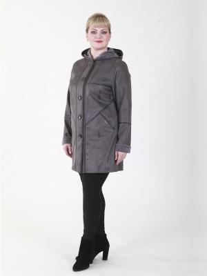 Пальто Розали VIKO. Цвет: серый