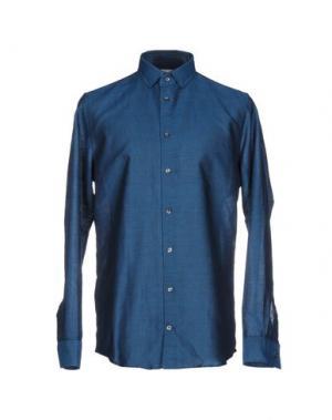 Pубашка RICHARD JAMES. Цвет: цвет морской волны