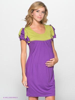 Платье UNIOSTAR. Цвет: сиреневый