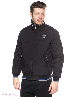 Куртка Stonecast. Цвет: черный