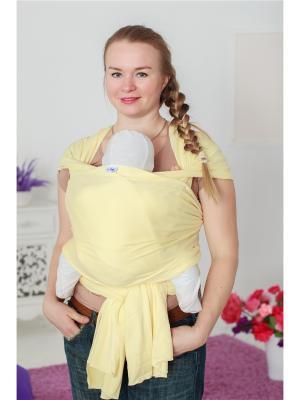 Слинг-шарф Желтый Sling Me. Цвет: желтый