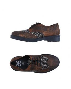 Обувь на шнурках 2STAR. Цвет: темно-коричневый