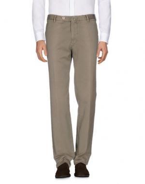Повседневные брюки G.T.A. MANIFATTURA PANTALONI. Цвет: песочный