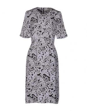 Платье до колена MARY KATRANTZOU. Цвет: сиреневый