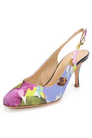 Туфли Vicini. Цвет: лиловый