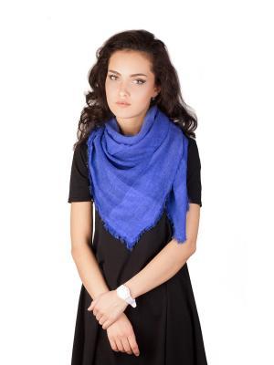 Платок Элеганс (синий) Le Motif Couture. Цвет: синий