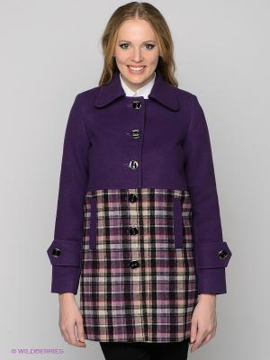 Пальто Hammond. Цвет: фиолетовый