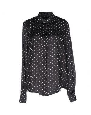 Pубашка NINEMINUTES. Цвет: черный