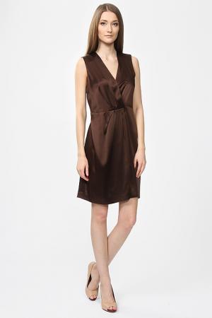 Платье Joseph. Цвет: коричневый