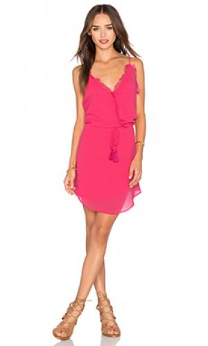 Платье rama Rory Beca. Цвет: розовый