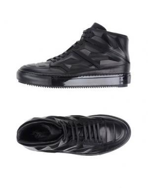 Высокие кеды и кроссовки ALEJANDRO INGELMO. Цвет: черный
