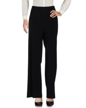 Повседневные брюки ANGELO MARANI. Цвет: черный